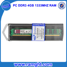 Branded export surplus pc3-10600 ddr3 ram 1333 4gb memory