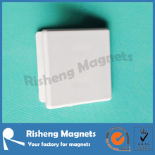 china custom produced super strong magnetic clip with ABS plastic