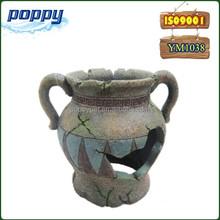 Amapola YM-1038 resina accesorios del acuario botella decorativa