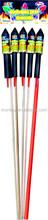 Best quality bottle rockets fireworks from China Rocket Bind