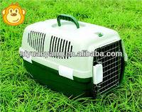 Plastic dog flight cage high quality