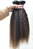 Long lasting soft coarse texture virgin human hair peruvian 22 inches yaki straight weave