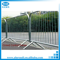 Aluminum Temporary Barrier Construction Metal Road Safety Barricades