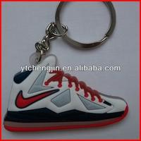 nba james sneaker keychain/cheap sneaker keychains/mini sneakers keychain