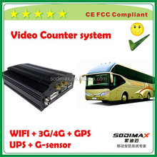 8ch g-sensor kingstone sd mobile dvr with 1.5 inch hard drives storage support UPS technology Automatic protection
