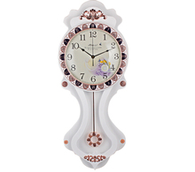 Anecdotes fang battery sitting room and second movement European clocks mute clock character set auger wall clock ZX