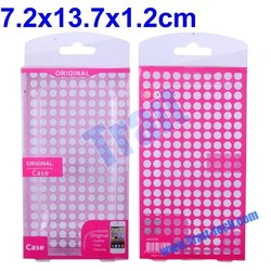 PVC Box, hard case packaging boxes, Package Bag for mobile phone