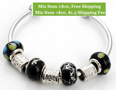 Смешайте модель новой моды diy 925 ювелирных браслет для женщин браслет серебряные браслеты шарм браслет