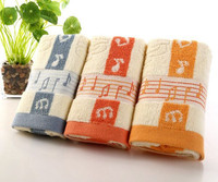 Cheap wholesale customized printed baby towel fabric with animal photo