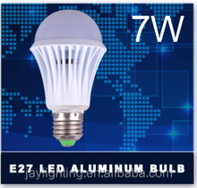 LED lighting 7 watt led bulb e27 profile aluminum smd light housing with smart power supply
