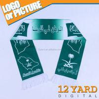National flag printed hijab fashion islamic head scarfs, muslim arabic ladies scarf