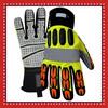 Tuff Knucks Reflective Metacarpal Impact Safety Gloves