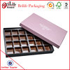 Custom Luxury Cardboard Paper Gift Packaging Chocolate Box
