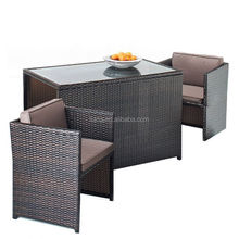 Garden furniture cebu rattan furniture 3pcs