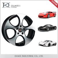 Silver Hot Selling Aluminium Alloy Wheel For Car