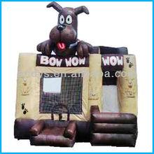 animal inflable mini puente combo gorila diapositivas
