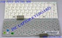 US Layout Laptop Keyboard 04GN011KUS20 Model K001262Q2 White US layout for Asus Eee PC 700 900