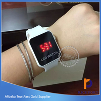 Fashion cheap price watch jelly silicone LED watch