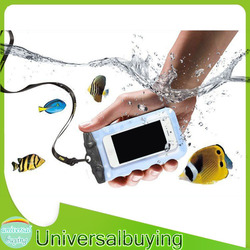 Universalbuying 2m underwater proof mobile phone bag&case for iPhone6 Plus Samsung Note2/3/4