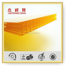 Waterproof Multiwall 4 Layer Polycarbonate Hollow Sheets