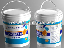Outside JS Polymer Cementitious Waterproofing Coating/waterproof epoxy coating /interior and exterior wall of building material