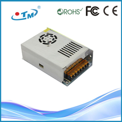 250W 50A Constant Voltage 5V DC Output din rail power supply 12v With CE RoHS FCC
