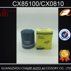 Factory wholesale Original engine parts CX0810 hitachi excavator oil filter in lubrication system