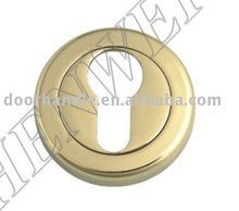 door lock escutcheon, door handle escutcheon, door escutcheon plate, rosette plate for door handles, door handle back plate