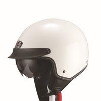 2015 NEW OP05 peak open face helmet with sun glass visor double visor