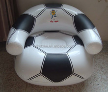 Football inflatable air sofa chair for promotion