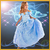 baby girls party wear dress,girl frock dress for summer ,cinderella fashion dress for girl