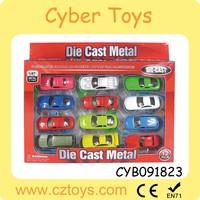 3 inch diecast model car free wheel metal mini toy car with EN71/6P/HR4040/ASTM