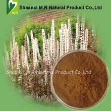 New Arrival 2015 Hot Sale!!!!!!!!! Bulk Black Cohosh Extract Triterpenoid Saponins 2.5%, 5% Powder