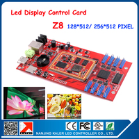 full color led display controller RGB video card Asynchronous controller rgb led controller show with video
