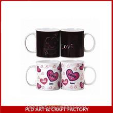 High Quality Hot Sale color change ceramic mug Gifts