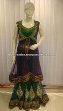 double color designer heavy salwar wedding suits kameez