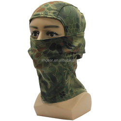 camouflage Tactical Hood Headwear Balaclavas Full Face Mask Best Sports Mask Fits Under Helmet