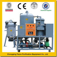 Removing Moisture and All Water Special Gravity Separation centrifugal oil cleaning system