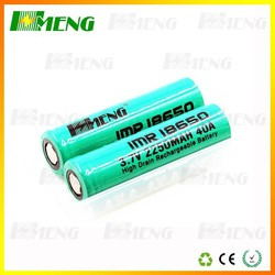 HMENG 2200mAh battery supplier ,shisha pen 18650 battery