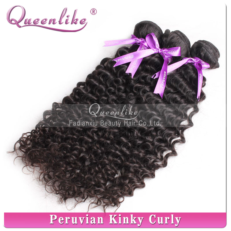 Free sample 2013 natural color virgin peruvian curly hair