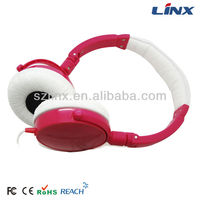 Shenzhen best seller brand headphone computer accessories stereo headphone