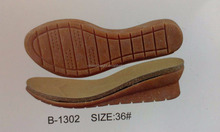 Hot Sale Cork Wood Outsole Lady RB Cork Outsole Wedge Cork Outsole for making shoes