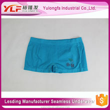 Boxer Briefs Spandex/Nylon Lady Sex Lingeries Lady Boyshort