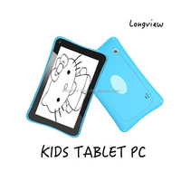 "7"" kids mid Allwinner A33 Quad Core Android 7 inch Tablet for kids with 512MB/8GB Wifi bluetooth 2 Cameras Games HD screen"