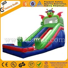 inflatable slide Dinosaur theme hot sales A4001