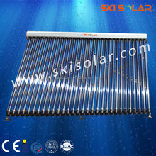 New Heat pipe solar evacuated tube collector(SKI-CA)