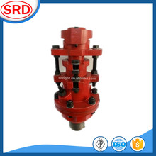 Oilfield rigid design wellhead seal assembly double packed stuffing box