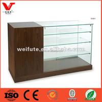 Retail store glass mobile phone display showcase