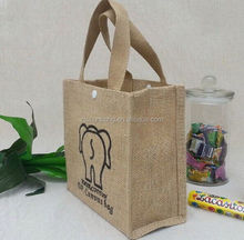 2015 cheap jute bag for supermarket for supermarket/ printed packing jute bag for supermarkets/ eco tote bags