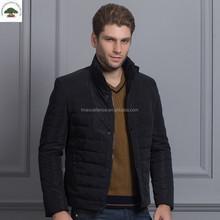 Polyester Black Leather Jacket